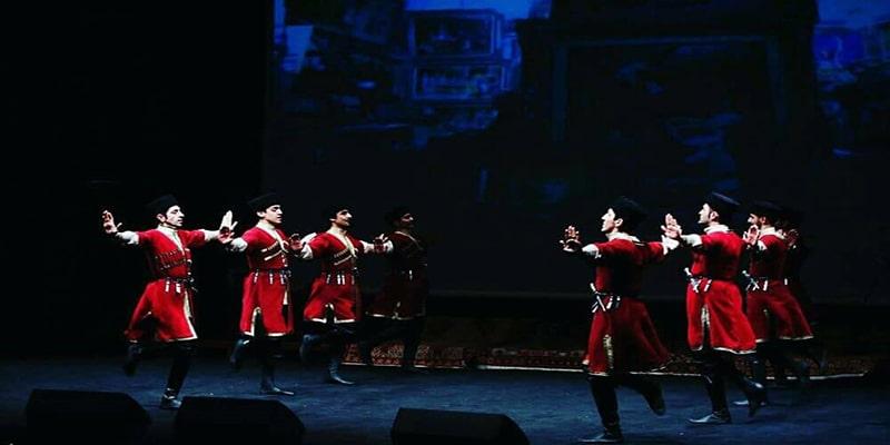 آموزش رقص آذری گروه اوتلار