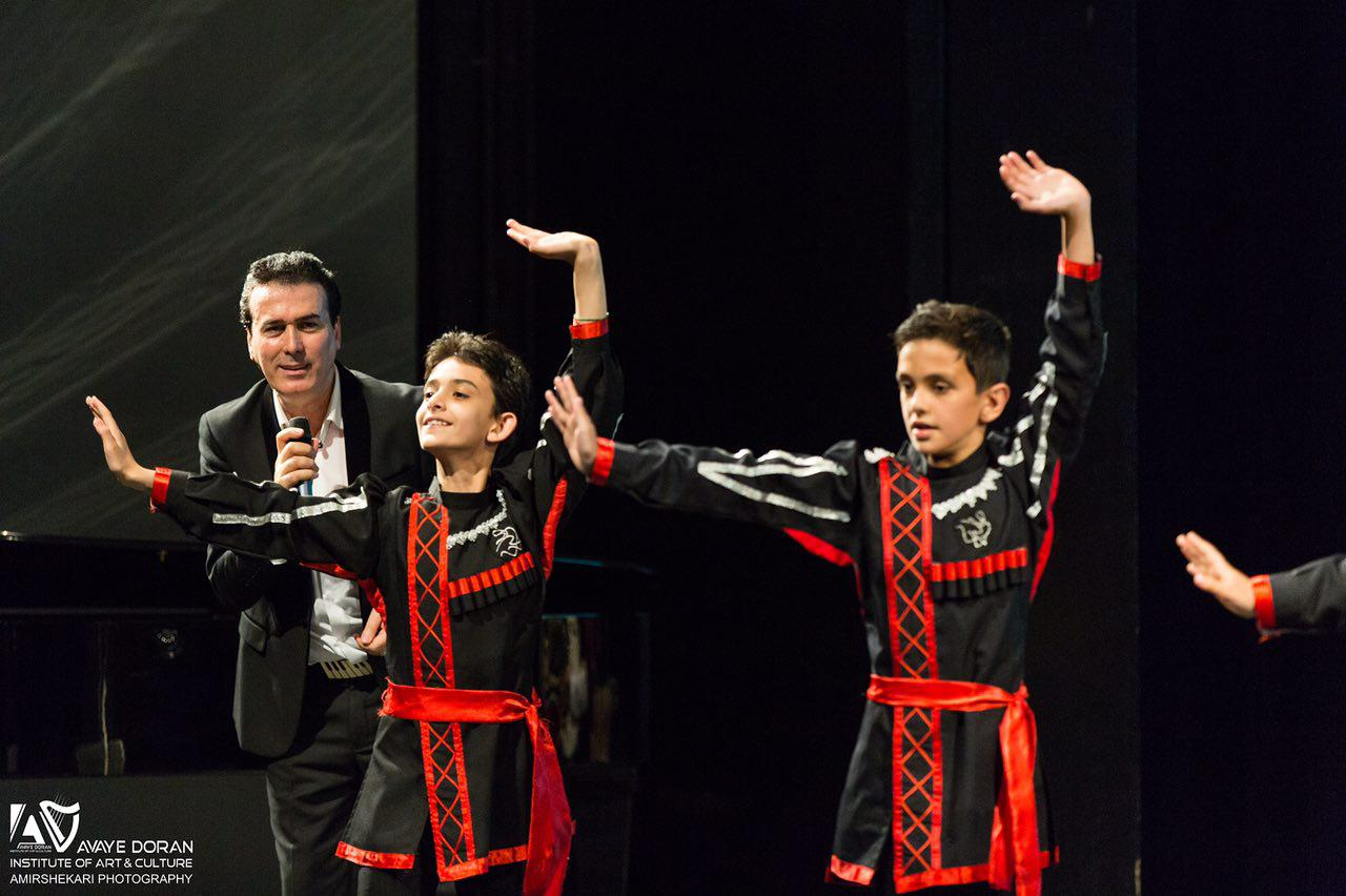 آموزش رقص پشت پا ترکی کودکان