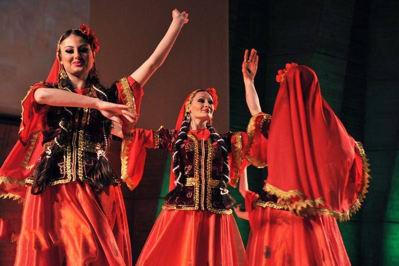 آموزش رقص آذری آرام دخترانه سال 99