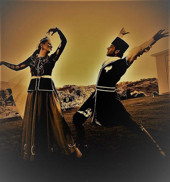 آموزش آنلاین و مجازی رقص آذری
